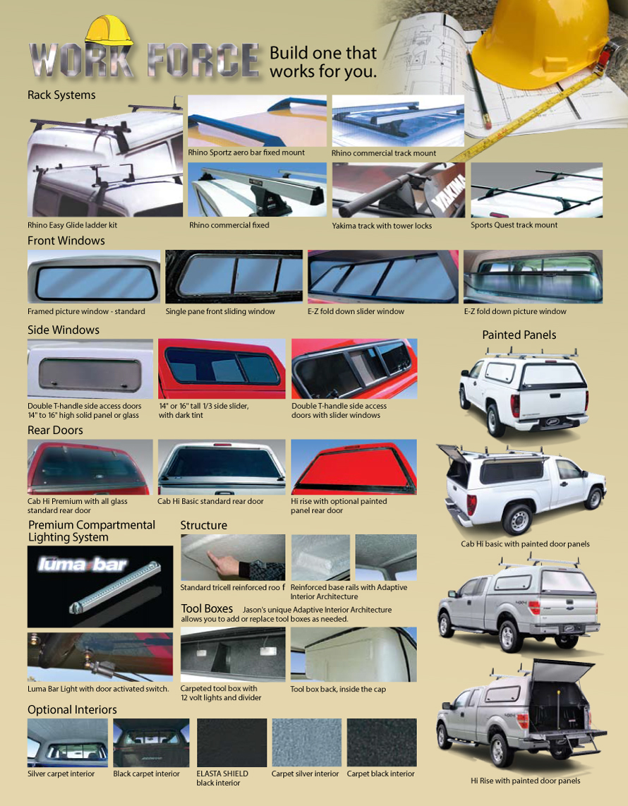 work force canopies page two